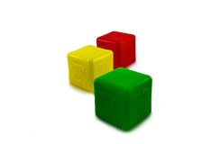 Cubes for kids Stock Photos
