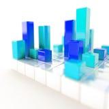 Cubes métalliques Photographie stock