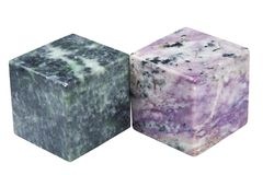 Cubes of minerals Stock Image