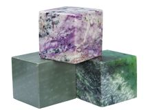 Cubes of minerals Royalty Free Stock Image