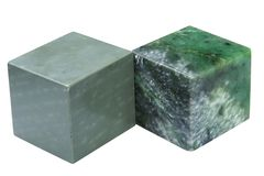 Cubes of minerals Stock Images