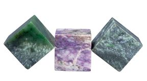 Cubes of minerals Royalty Free Stock Images
