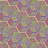 Cubes multicolores Photos stock