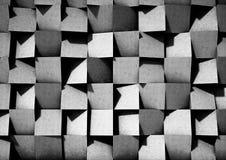 Cubes noirs 3d avec la texture image libre de droits