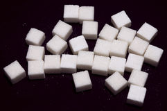Cubes Of Sugar Stock Images