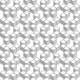 Cubes pattern Stock Image