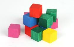 cubes réglés Photographie stock libre de droits