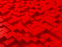 Cubes. Random generated and colored cubes Royalty Free Stock Images