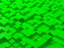 Cubes. Random generated and colored cubes Royalty Free Stock Photo