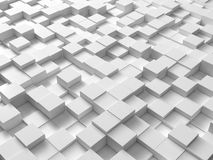 Cubes. Random generated and colored cubes Royalty Free Stock Photography