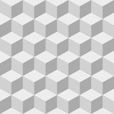 Cubes seamless background. Stock Photography