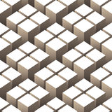 Cubes seamless pattern Stock Photo