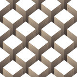 Cubes seamless pattern Stock Photography
