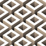 Cubes seamless pattern Royalty Free Stock Image