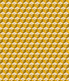 Cubes seamless pattern background Royalty Free Stock Images