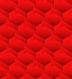 Cubes seamlessly repeatable pattern, 3d geometric background. Royalty Free Stock Image