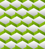 Cubes seamlessly repeatable pattern, 3d geometric background. Stock Photos