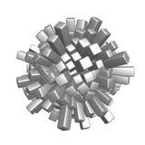 Cubes sphere Stock Photo