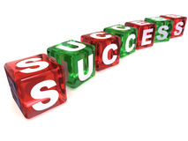 Cubes. Success Royalty Free Stock Images