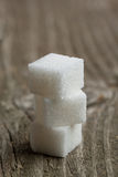 Cubes of sugar Royalty Free Stock Photo
