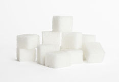 Cubes of sugar Stock Photo