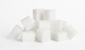 Cubes of sugar Royalty Free Stock Photography
