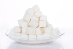 Cubes of sugar Stock Image