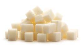 Cubes of sugar Stock Photos