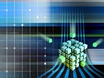 cubes techno Стоковая Фотография