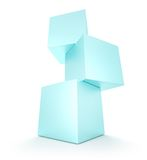Cubes Royalty Free Stock Photo