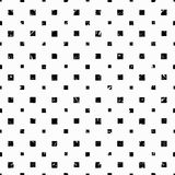 Cubes on a white background grunge effect wallpaper pattern seamless vector Stock Image