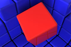 Cubes01 Royalty Free Stock Photography