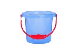 Cubeta azul Fotografia de Stock