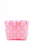 Cubeta cor-de-rosa Imagens de Stock