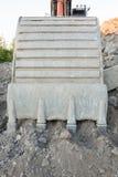 Cubeta da máquina escavadora Imagem de Stock