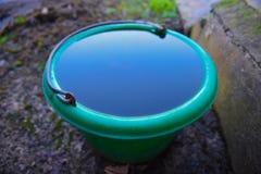 Cubeta de água Imagens de Stock Royalty Free