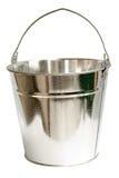 Cubeta de aço galvanizada (trajeto de grampeamento do Inc) Imagens de Stock
