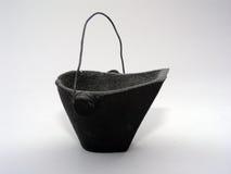 Cubeta de carvão imagem de stock royalty free