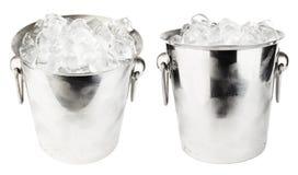 Cubeta de gelo Foto de Stock Royalty Free