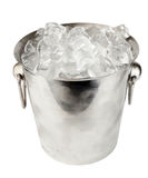 Cubeta de gelo Fotos de Stock Royalty Free
