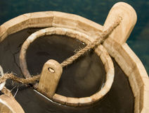 Cubeta de madeira Imagens de Stock Royalty Free