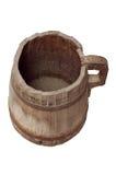 Cubeta de madeira velha Imagem de Stock