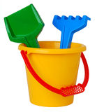 Cubeta do brinquedo Foto de Stock