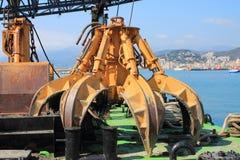 Cubeta para a dragagem do fundo do mar Fotografia de Stock Royalty Free