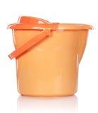 Cubeta plástica azul Imagem de Stock