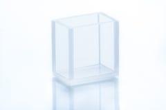 Cubeta retangular vazia Imagem de Stock Royalty Free