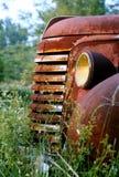 Cubeta velha da oxidação Fotos de Stock Royalty Free