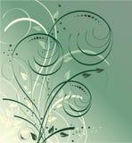 Cubeta verde do vetor Fotos de Stock Royalty Free