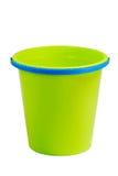 Cubeta verde vazia Fotografia de Stock Royalty Free