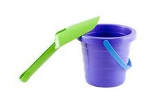 Cubeta violeta da criança Foto de Stock Royalty Free
